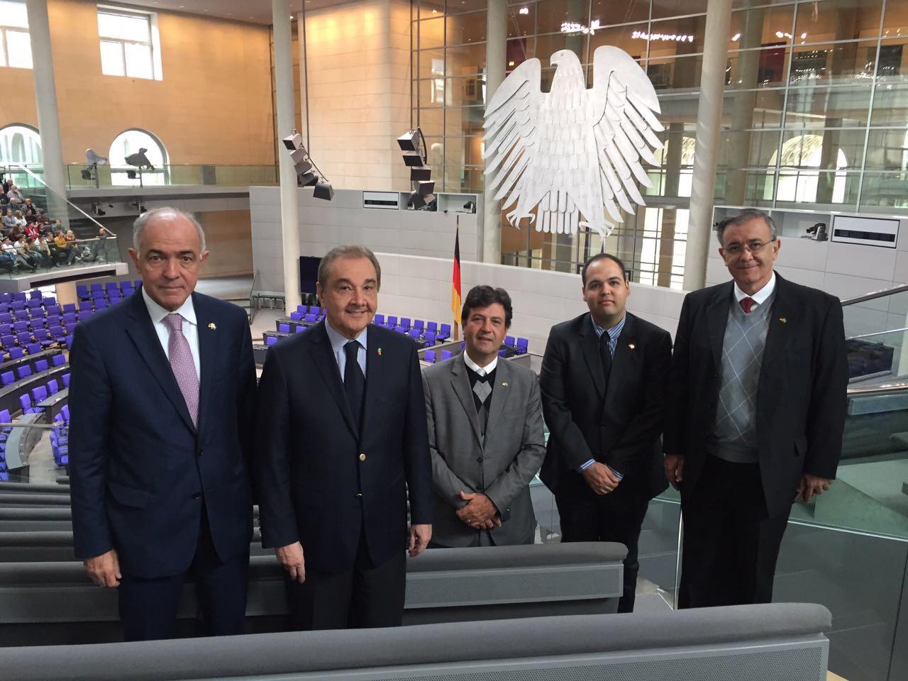 Reunião no Parlamento Alemão 02
