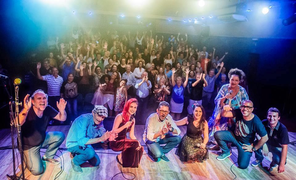 Formação show A música potiguar e o RN. Foto Franklin Levy