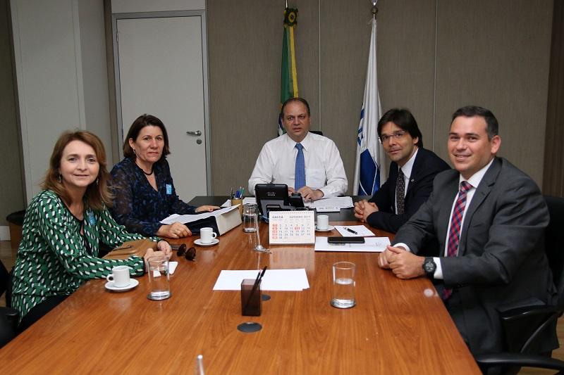 Reunião com ministro da Saúde 01
