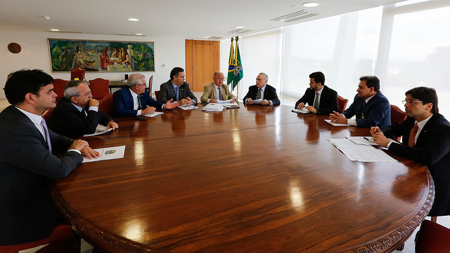 Reunião bancada do nordeste com presidente 02