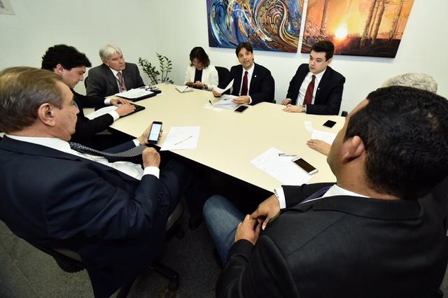 Reunião com representante da Petrobras