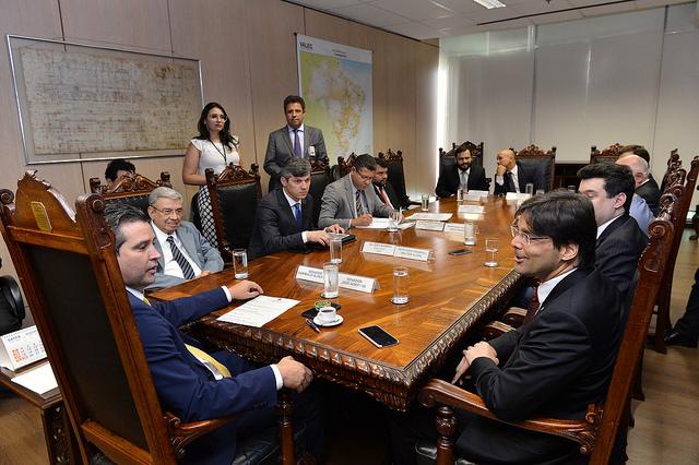 Reunião ministro dos transportes 01