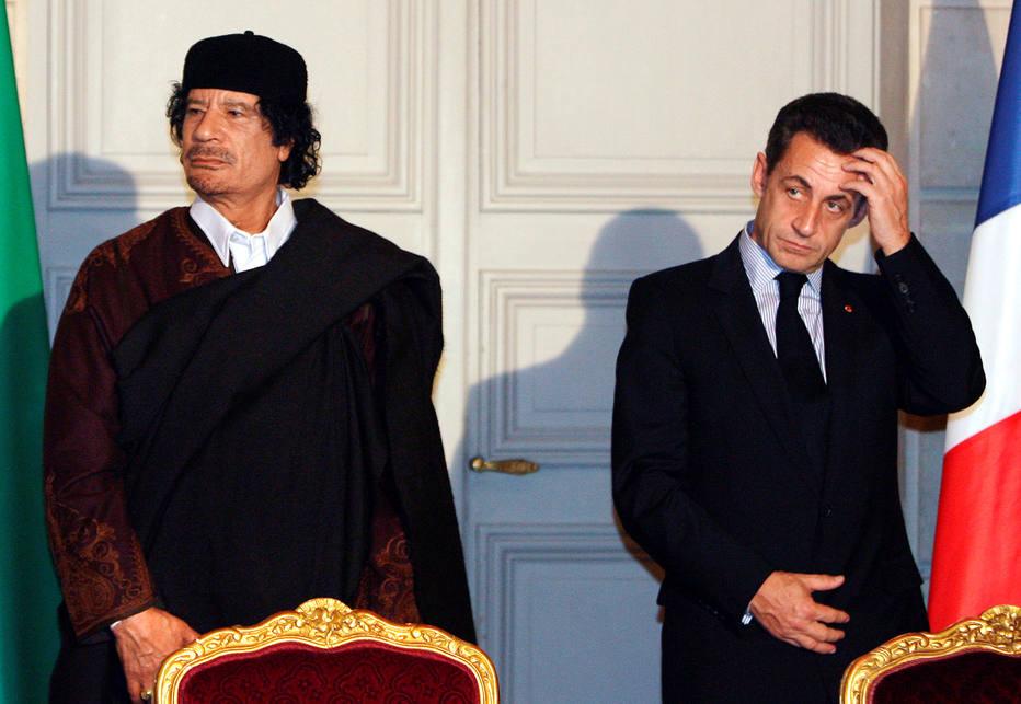 Sarkozy é detido na França