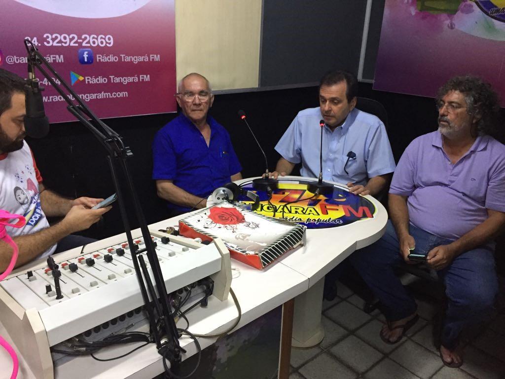 CE concede entrevista à FM 89.7 de Tangará