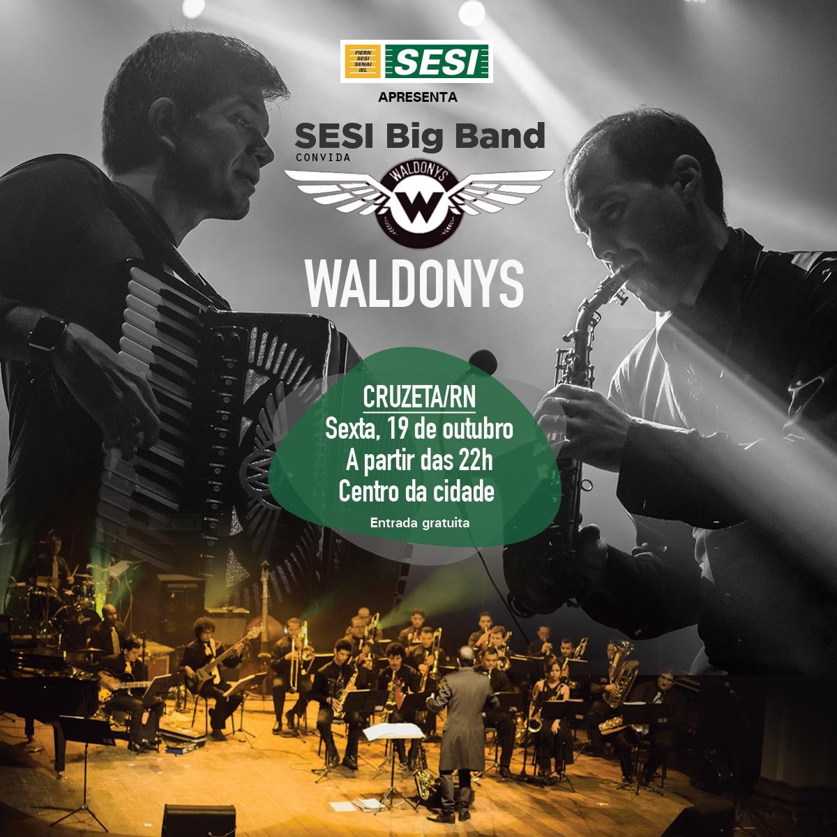 SESI Big Band convida Waldonys (1)