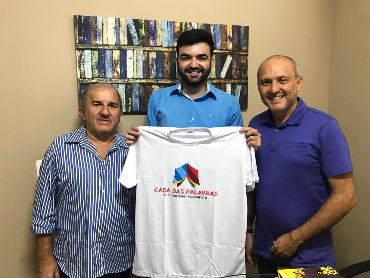 Ronaltty Neri, _Rilder Medeiros e Osnir Damásio na Agência Oficina