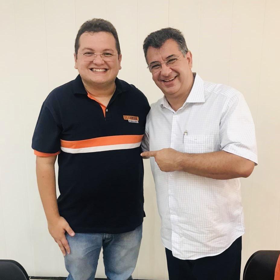 Diego Vale e Zé Vieira Solidariedade