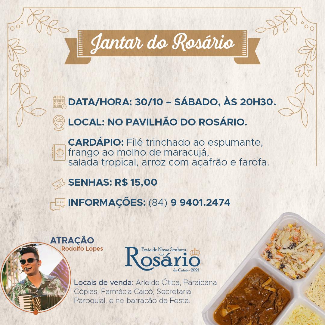 Jantar do Rosário_